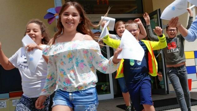 Für fast 20.000 Schüler heißt es heute: Endlich Ferien! (Bild: Rojsek-Wiedergut Uta)