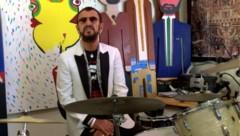 Ringo Starr feierte seinen 80. Geburtstag mit einer Online-Party. (Bild: YouTube.com)