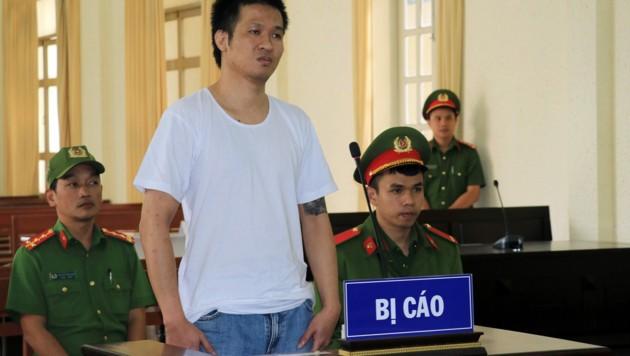 Nguyen Quoc Duc Vuong während seines Prozesses (Bild: AFP)
