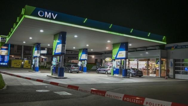 Diese Tankstelle war im Visier (Bild: Zeitungsfoto.at)