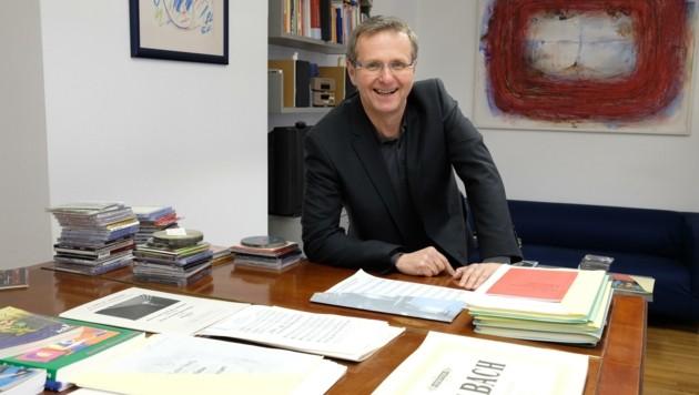 Christian Denkmaier ist Direktor der Musikschule in Linz (Bild: Chris Koller)