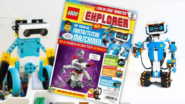 (Bild: The LEGO Group/Egmont Ehapa, stock.adobe.com, krone.at-Grafik)