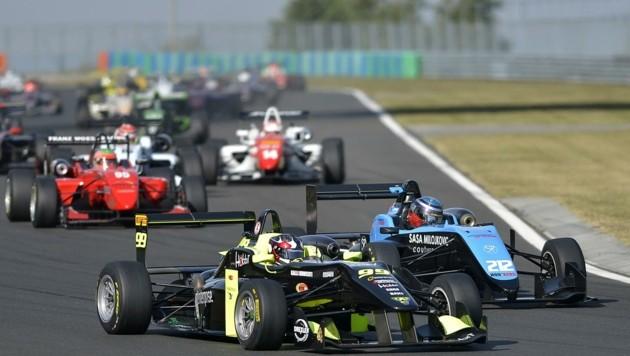 Der Drexler Formel Cup - Europas größte Formelserie gastiert ebenfalls im Nesselgraben (Bild: GABOR MURANYI)