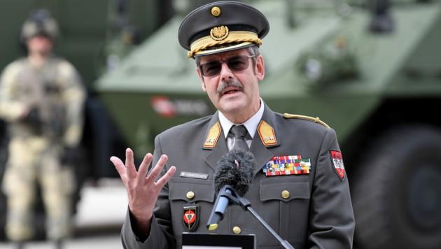Generalmajor Erwin Hameseder