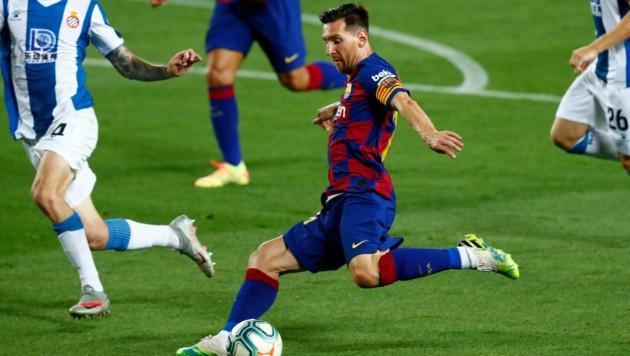 Lionel Messi steht kurz vor seinem nächsten Rekord. (Bild: Copyright 2020 The Associated Press. All rights reserved.)