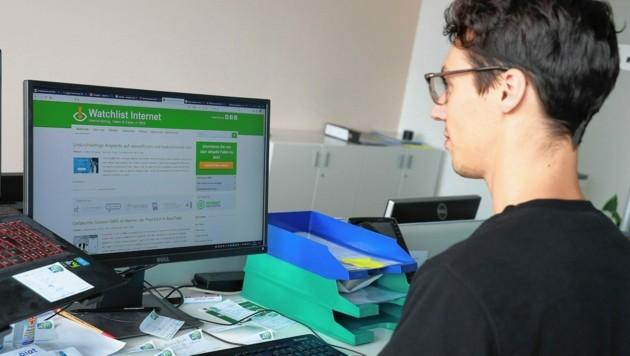 Die Watchlist Internet warnt vor Betrug, Fallen & Co. im Netz. (Bild: Zwefo)