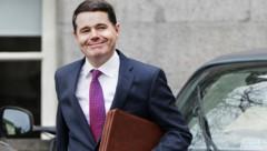 Der irische Finanzminister Paschal Donohoe setzte sich gegen zwei Mitbewerber durch. (Bild: AFP)