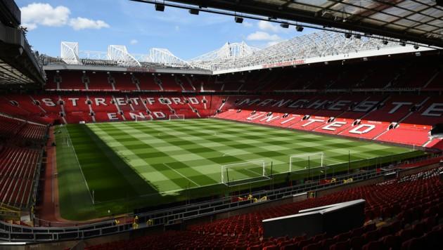 Das Old Trafford Stadion von Manchester United (Bild: AFP)