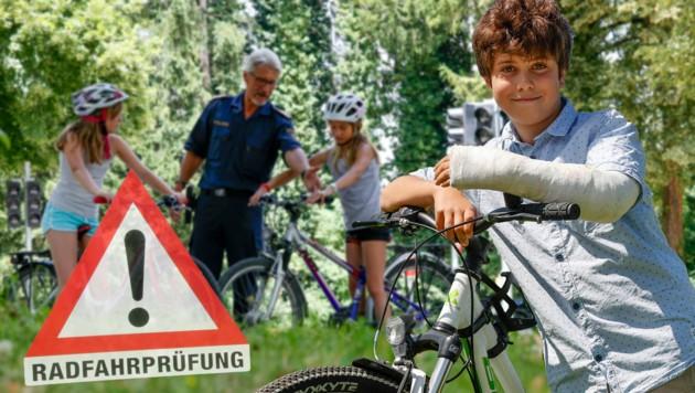 Im August fährt Jonas mit Mama Kerstin nach Wien und macht dort die Prüfung (Bild: Markus Tschepp)