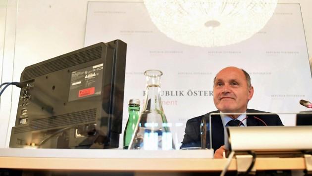 Nationalratspräsident und U-Ausschuss-Vorsitzender Wolfgang Sobotka (ÖVP)