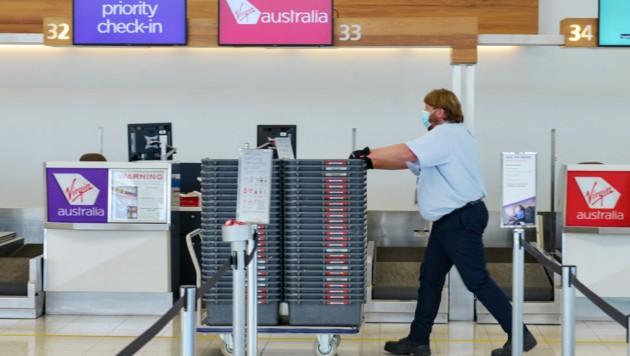Flughafen in Adelaide (Bild: AFP)