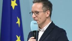 Ex-Ö3-Moderator Peter L. Eppinger ist seit 2017 Sprecher der Bewegung von Kanzler Sebastian Kurz. (Bild: APA/HANS PUNZ)