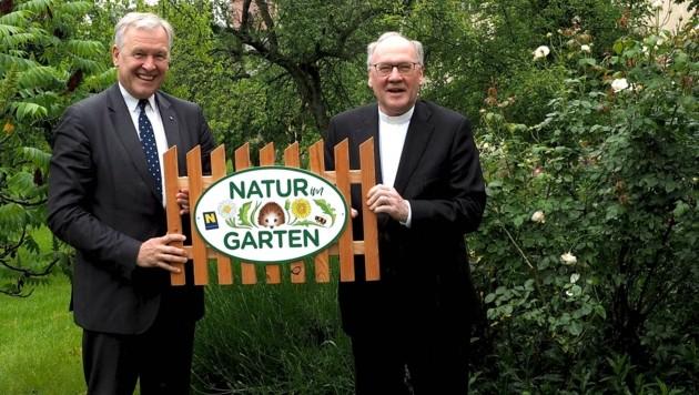Landesrat Martin Eichtinger und Bischof Alois Schwarz (Bild: Natur im Garten)