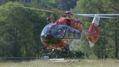 Die vier Wanderer mussten per Hubschrauber geborgen werden. (Bild: zoom.tirol)