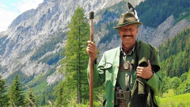 Ein Jäger in der Tradition von Erzherzog Johann