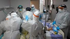 Seit Anfang Juli hat sich die Zahl der Spitalspatienten mit Covid-19 in Texas verdoppelt. (Bild: AP)