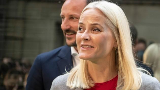 Kronprinz Haakon und Kronprinzessin Mette-Marit (Bild: APA / Photo by Boris Roessler / dpa / AFP)