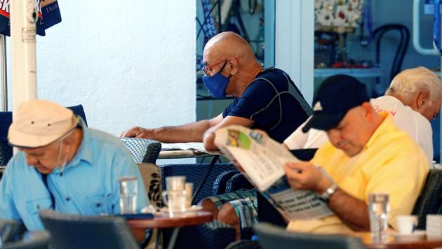 Viele der Erkrankten waren vorher in Kroatien auf Urlaub. (Bild: EPA)