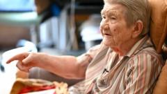 Die 100-jährige Hélène Wuillemin (Bild: AFP)
