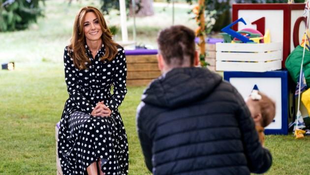 Herzogin Kates neue Haarfarbe lässt sie noch mehr strahlen.