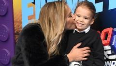 Naya Rivera mit ihrem Sohn Josey Hollis (Bild: APA / AFP / 2019 Getty Images)