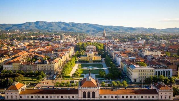 Zagreb - Wohnzimmer im Freien