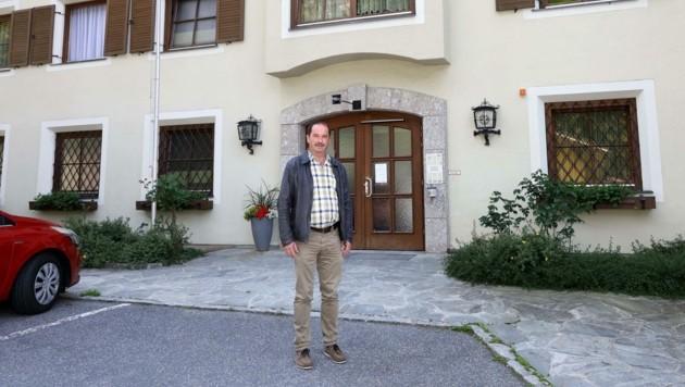 Johann Gassner, Bürgermeister in Taxenbach (Bild: Roland Hölzl)