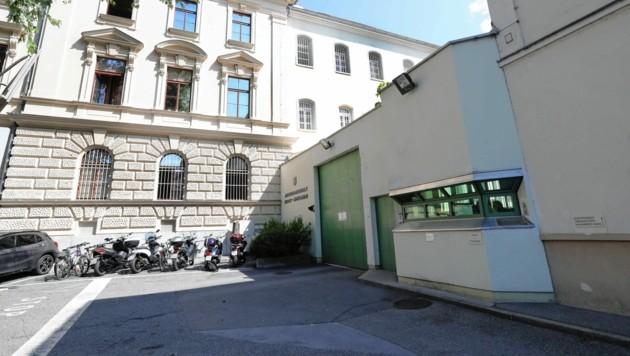 Die Justizanstalt Graz-Jakomini (Bild: Jürgen Radspieler)