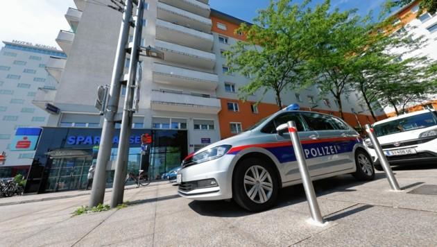 Die Polizeiinspektion Bahnhof musste vorübergehend geschlossen werden. (Bild: Markus Tschepp)