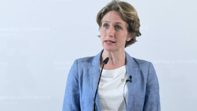 NEOS-Fraktionsführerin Stefanie Krisper (Bild: APA/Helmut Fohringer)