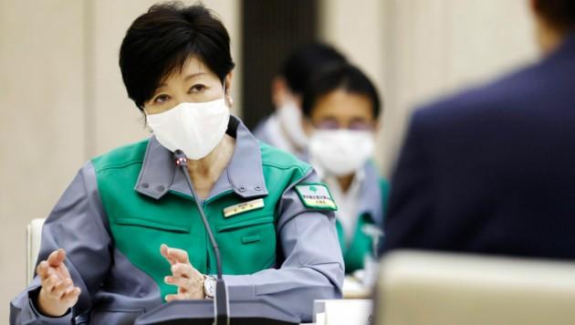 Gouverneurin Yuriko Koike (Bild: Kyodo News)