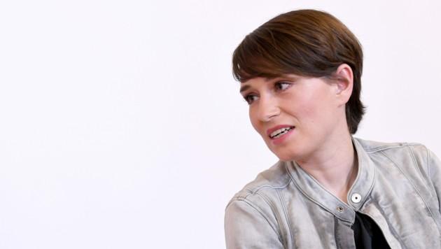 Grünen-Klubchefin Sigrid Maurer (Bild: APA/ROLAND SCHLAGER)