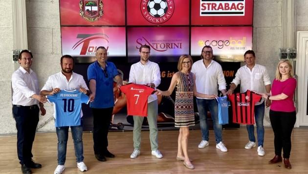 Fusioniert haben sich die beiden Stockerauer Fußballklubs (Bild: zVg)