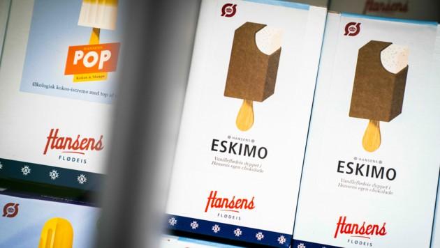 """Eis gehört zum Sommer einfach dazu. Das Wort """"Eskimo"""" für manche aber nicht zu Eis. (Bild: APA/AFP/Ritzau Scanpix/Ida Marie Odgaard)"""