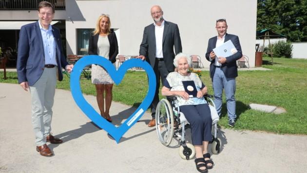 Die Diakonie de La Tour bedankt sich für die Hilfe der Stadtwerke Klagenfurt (Bild: Szepannek/KK)