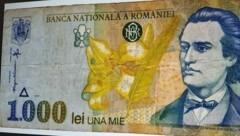 Ein alter 1000 Lei-Schein aus Rumänien (Bild: zVg)