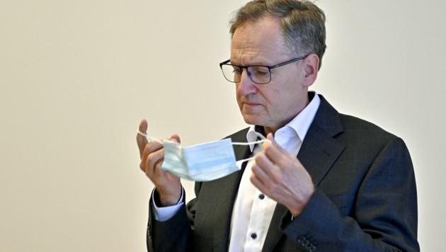 Ärztekammerpräsident Herwig Lindner.