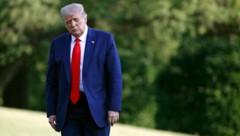 Präsident Donald Trump hat derzeit wenig Grund zur Freude. (Bild: AP)