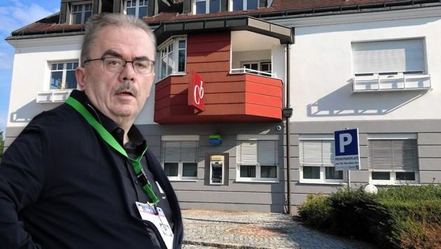 Martin Pucher will trotz angeschlagener Gesundheit kooperieren und zur Aufklärung beitragen. (Bild: GEPA, ORF/Knotzer, krone.at-Grafik)