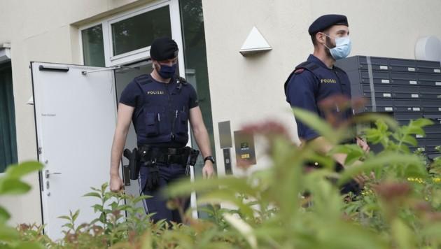 Sechs Salzburger Polizisten sind positiv getestet worden (Bild: Tschepp Markus)