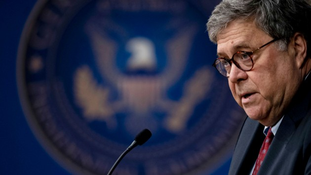 William Barr (Bild: Nicole Hester/Mlive.com)
