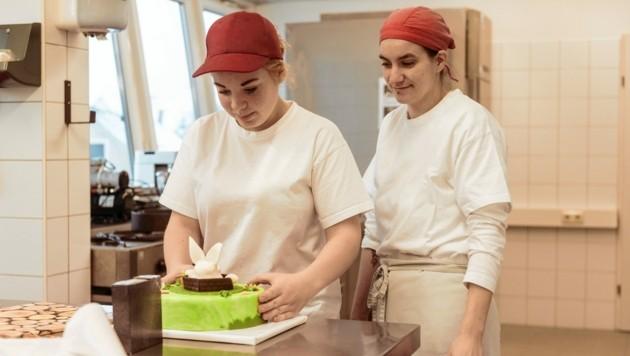 """Ein Erfolg für die Lebenshilfe ist die integrative Konditorei """"Famoos"""" in Mooskirchen: Bessere Torten kann man in der Steiermark kaum finden!"""