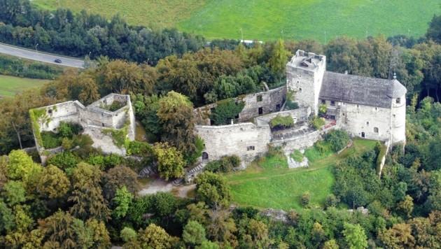 Die Ruine Gösting in Graz