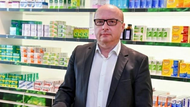 Thomas Veitschegger ist Präsident der OÖ Apothekerkammer (Bild: Harald Dostal)