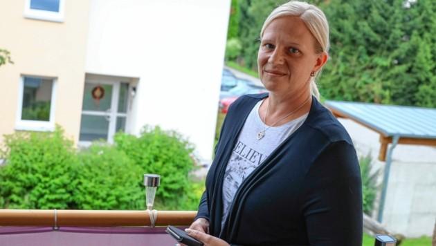 Michaela H., Nachbarin beim Tatort in Rainbach/Innkreis (Bild: Matthias Lauber)