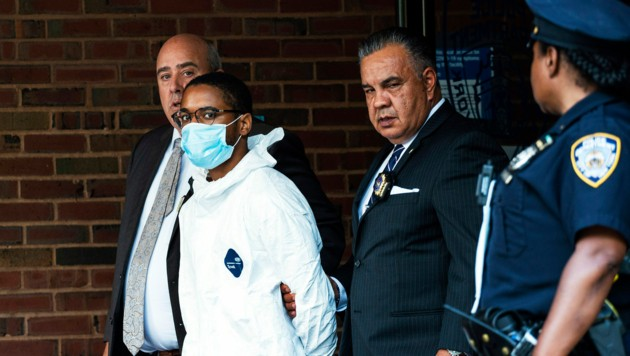 Tyrese Devon Haspil wurde nur wenige Tage nach der brutalen Tat festgenommen. (Bild: AP)
