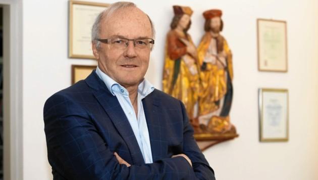 Der Vorarlberger Psychiater Reinhard Haller