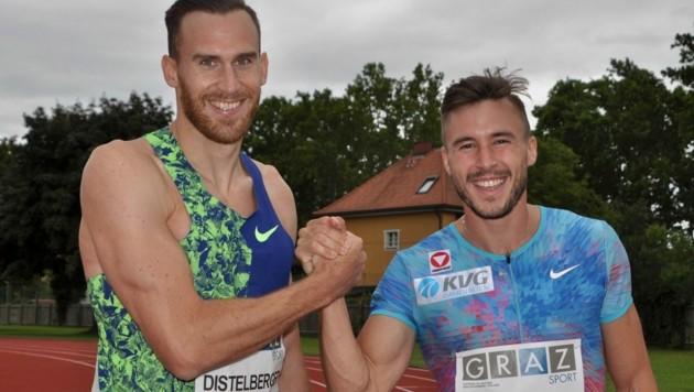Dominik Distelberger und Markus Fuchs (Bild: Olaf Brockmann)