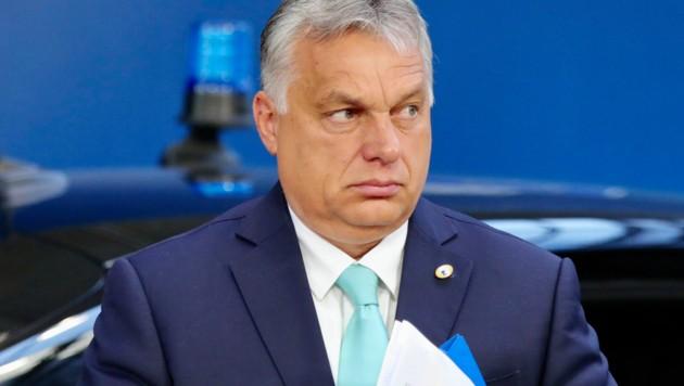 Ungarns Ministerpräsident Viktor Orban sorgte bereits im Vorfeld mit seiner Vetodrohung für angespannte Stimmung.