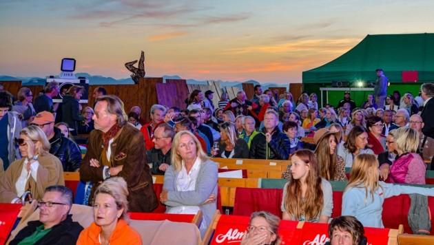 Einmaliges Kino-Ambiente wird alljährlich am Kitzbühler Horn geboten. (Bild: Hubert Berger)